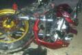 Di Ciamis, Motor Ninja versus Bus 'Adu Bagong', Korban Alami Patah Tulang