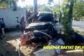 Hilang Kendali, Mobil Taft Hantam Kios dan 2 Motor di Pangandaran