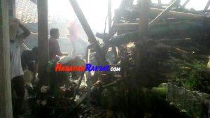Dapur Rumah Milik Warga di Ciamis Ludes Terbakar