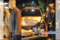 Mobil Anggota Dewan Ciamis Terlibat Tabrakan di Jalan Ahmad Yani