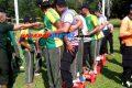 Polri, TNI & Satpol PP di Banjar Kompak Ikuti Lomba Agustusan