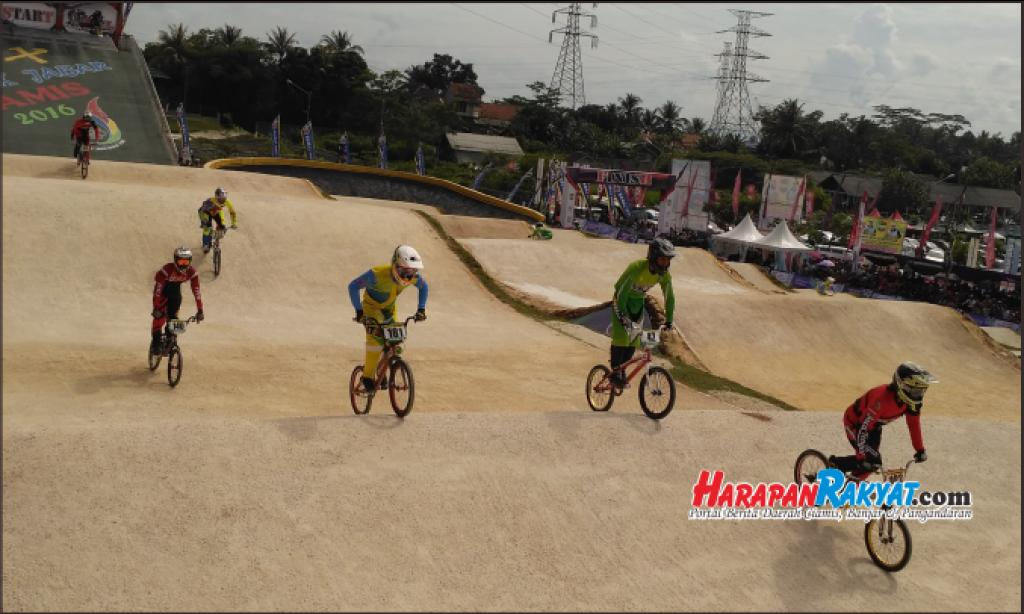 Bupati Berharap Kejuaraan BMX Jadi Motivasi bagi Pemuda Ciamis