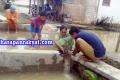 Picu Banjir, Warga Waringinsari Banjar Bobol Drainase