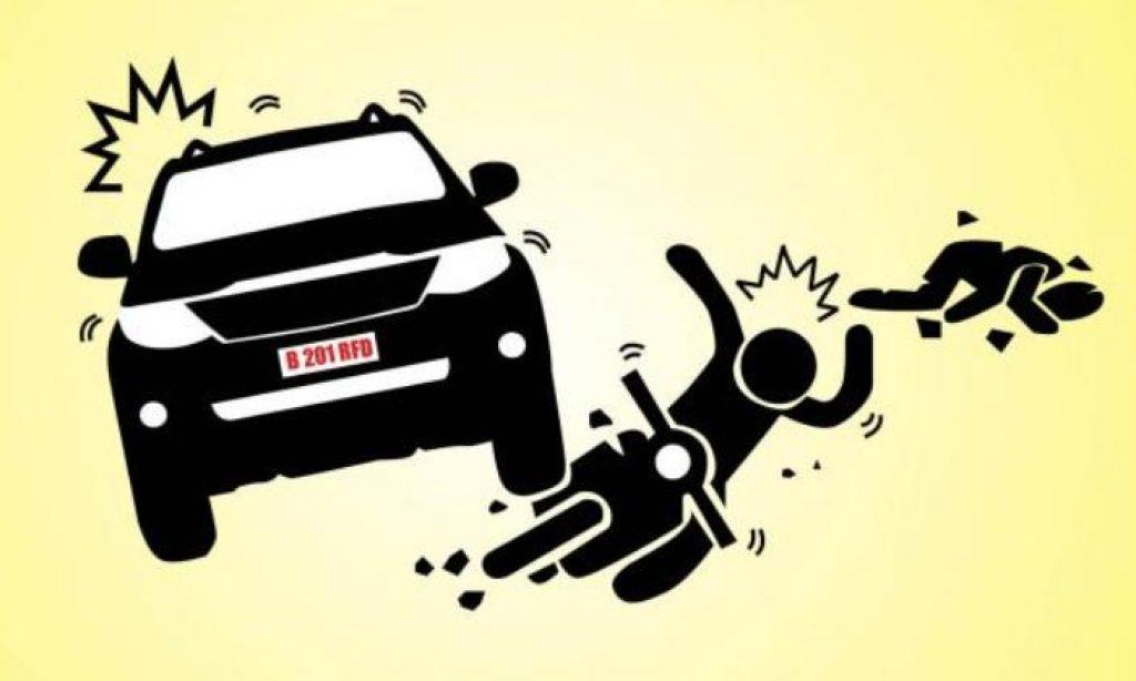 Akibat Mengantuk, Mobil Tabrak Warga Pangandaran Hingga Patah Tulang