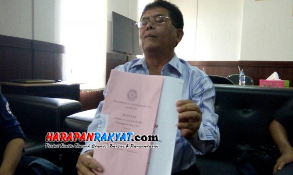 Diduga Menyalahi Aturan, Gugatan Pembentukan KPU Pangandaan Ditolak MA