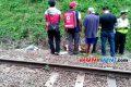 Penjaga Jembatan Cirahong Ciamis Tewas Terserempet Kereta Api Argo Wilis