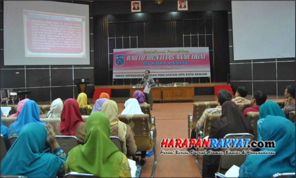 53.601 Anak di Banjar segera Miliki Kartu Identitas