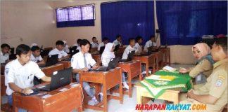 214 Siswa SMK Muhammadiyah 1 Banjarsari Fokus Ikuti UNBK