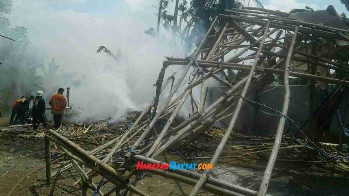Kebakaran di Kota Banjar