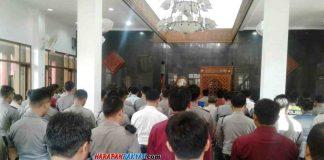 Puluhan Anggota Polres Ciamis Gelar Sholat Ghaib untuk Almarhum BJ Habibie