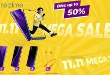 Mega Sale 11.11 Realme