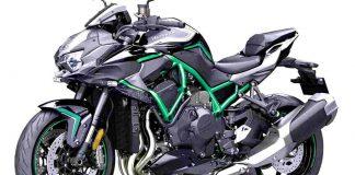 Motor Kawasaki Z H2 2020
