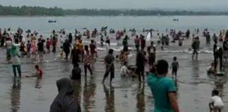 Pantai di Pangandaran