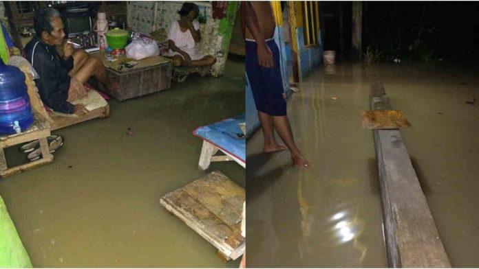 Diguyur Hujan Deras, Dua Rumah Warga Banjasari Terendam Banjir