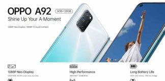 Harga HP Oppo A92 Terbaru