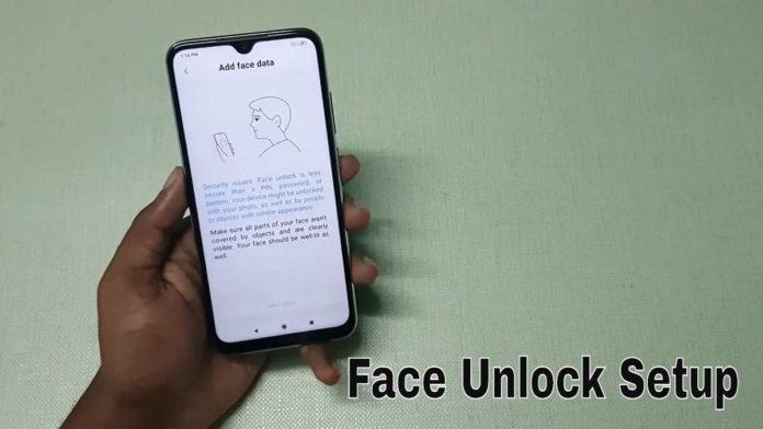 HP Xiaomi dengan Fitur Face Unlock