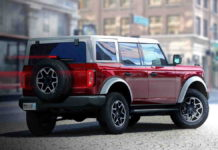 Ford Bronco 2021 SUV dengan Platform Body on Frame