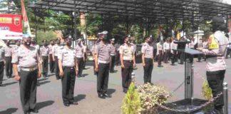 Anggota Polres Kota Banjar