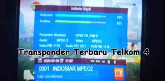 Transponder Terbaru Telkom 4