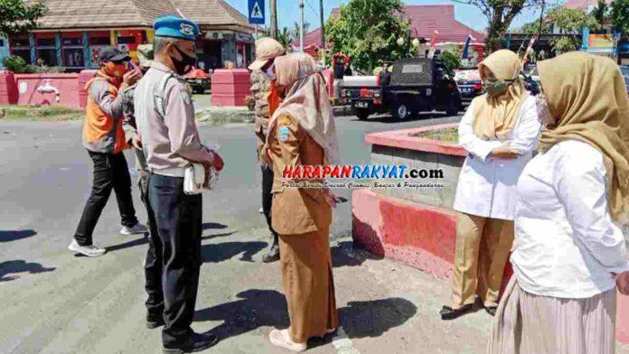 PNS Dinkes Pangandaran Terjaring Razia Yustisi