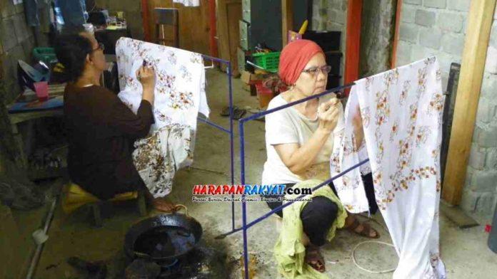 Batik Lukis di Kota Banjar
