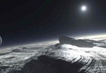 Pegunungan Salju di Pluto