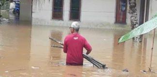 Desa di Pangandaran Banjir