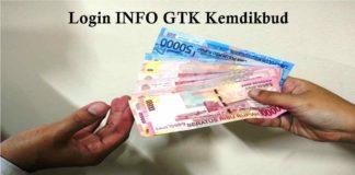 Login Info GTK Kemdikbud