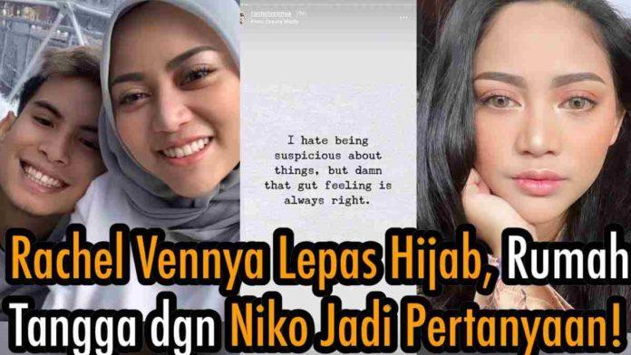 Rachel Vennya Lepas Hijab