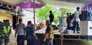 Resepsi Pernikahan di Pangandaran Dibubarkan Satgas Covid-19