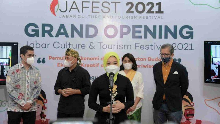 Atalia Sebut JaFest 2021 Dorong Pemulihan Ekonomi di Jabar