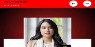 Maudy Ayunda Masuk Forbes, Dalam Daftar 30 Under 30 Asia 2021