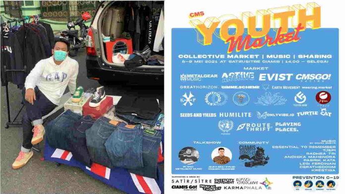 Kenalkan Brand Lokal, Pegiat Fashion Gelar Youth Market Ciamis Vol 1