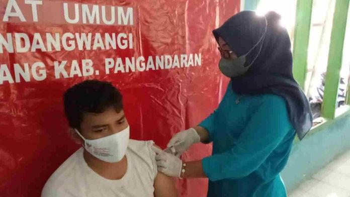 Penyuntikan Vaksin Covid-19 di Pangandaran Sasar Masyarakat Umum