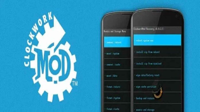 Instal CWM Recovery Android