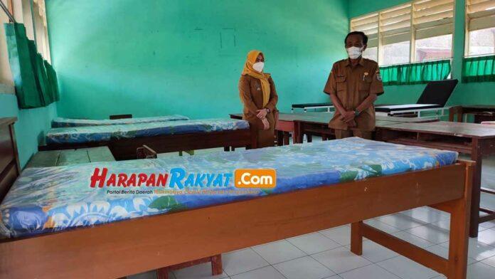 Sekolah Jadi Tempat Isolasi Terpusat