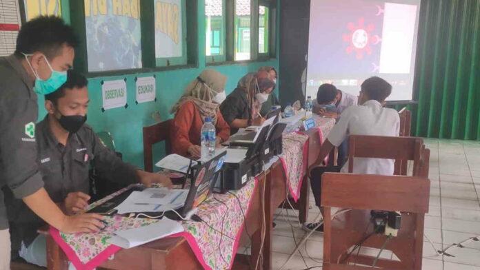 300 Siswa SMPN 1 Panawangan Jalani Vaksinasi Covid-19